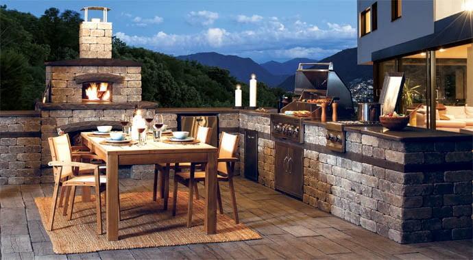 amusing outdoor kitchen designs | 25+ Amazing Outdoor Kitchen Ideas & Designs » Jessica Paster
