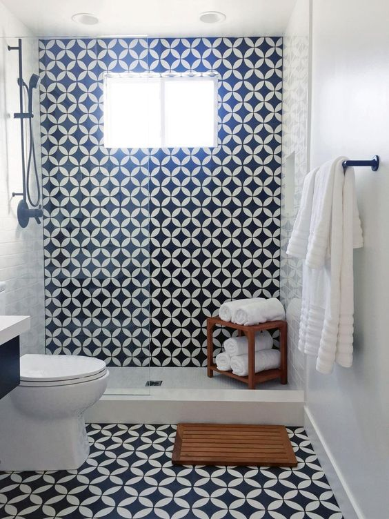black tile ideas