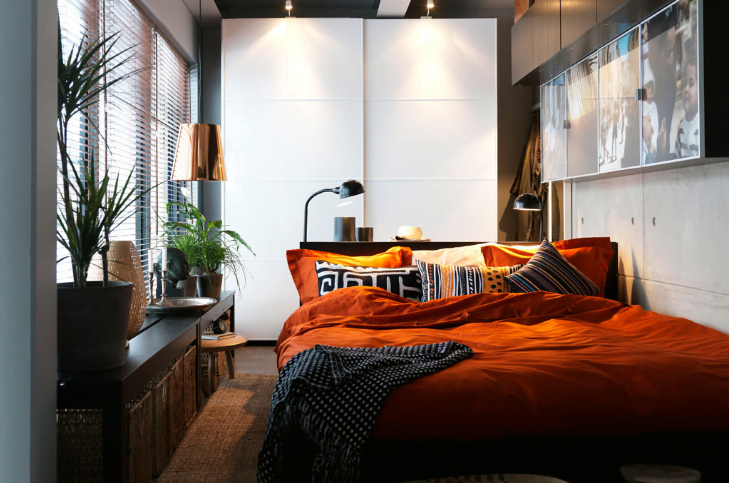 Small Bedroom Ideas U2013 You Think That Cramped Space Can Make You Feel  Claustrophobic, However With Smart And Strategic Design And Styling As Well  As Creative ...