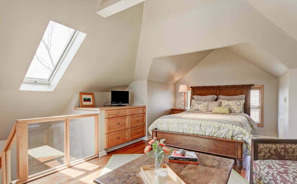 innovative attic bedroom interior design ideas   15+ Inspiring Attic Bedroom Ideas » Jessica Paster