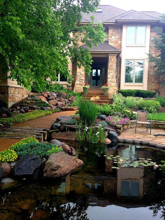 Top 15+ Small Front Yard Landscaping Ideas » Jessica Paster on Front Yard And Backyard Landscaping Ideas id=32832