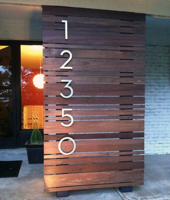 25 Creative House Number Ideas Amp Designs 187 Jessica Paster