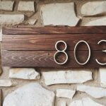 25+ Creative House Number Ideas & Designs