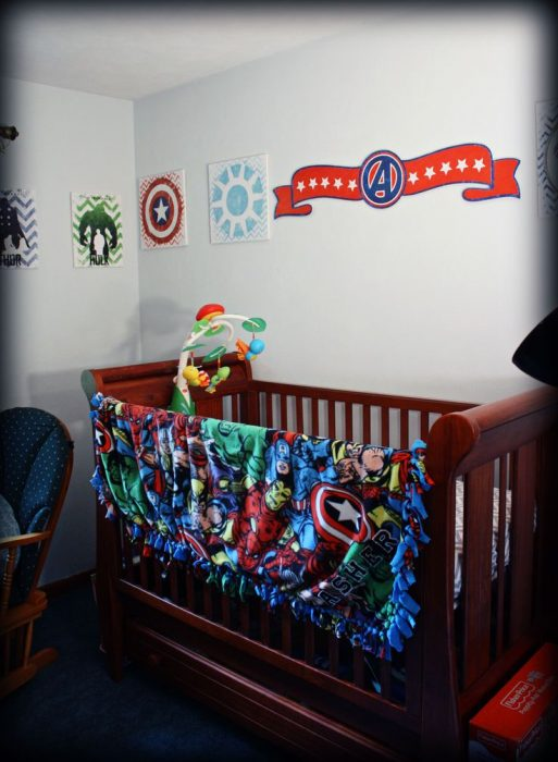 baby boy nursery themes superheroes