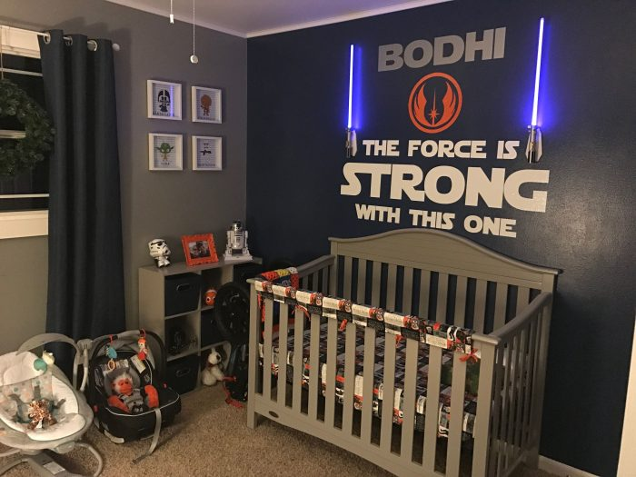 star wars baby boy nursery themes