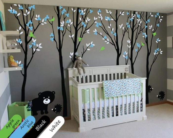 Forest-Themed Baby Boy Nursery
