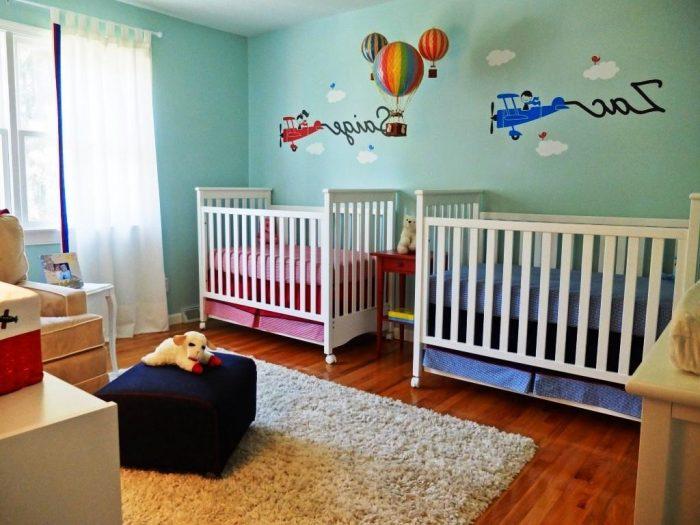 baby boy room ideas fot twins