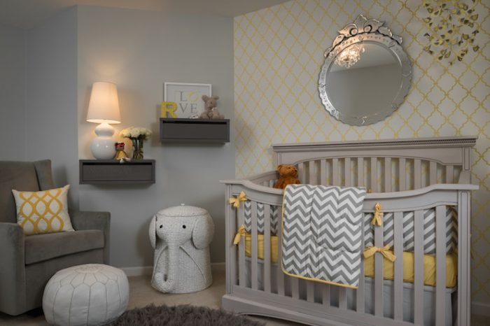 baby boy room ideas gray and yellow