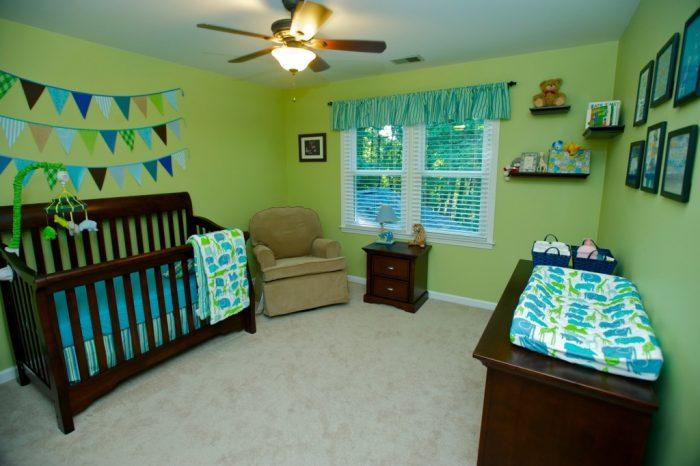 Green Baby Boy Nursery
