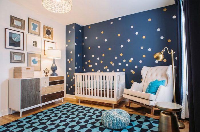 Space-Themed Nursery