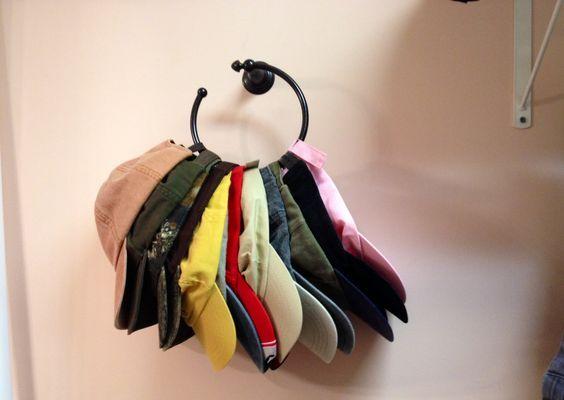hat hanging ideas