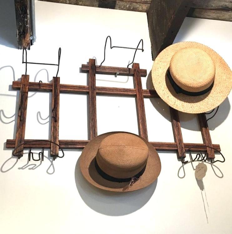 pallet hat organizer