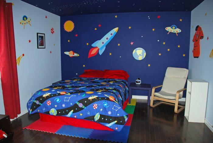 galaxy bedroom ideas