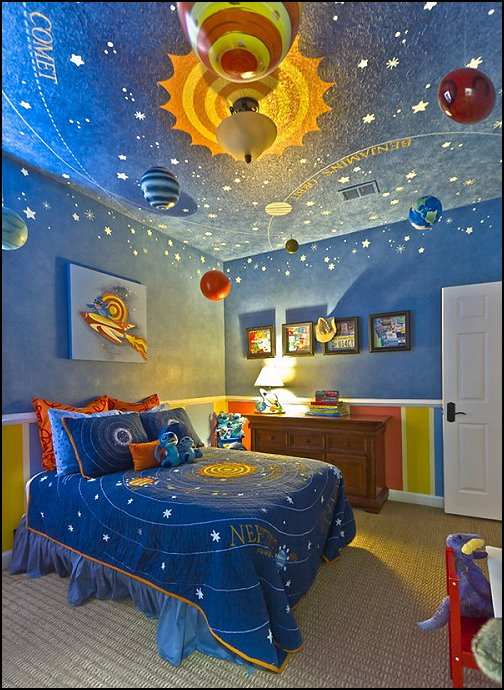 spaceship themed bedroom (13)