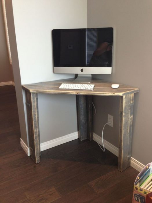 37+ Modern DIY Computer Desk Ideas for Your Home Office ...