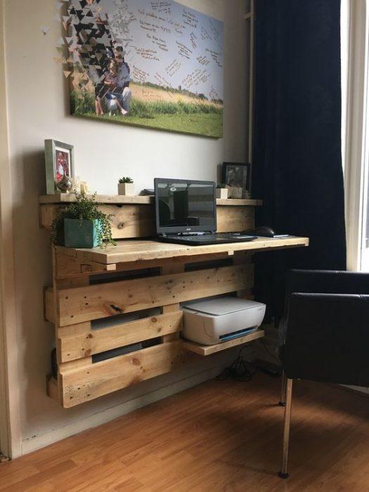 pallete computer desk