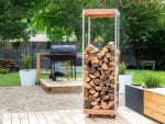 37+ Amazing DIY Firewood Rack & Storage Ideas – Indoor & Outdoor
