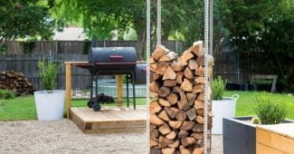 firewood rack ideas