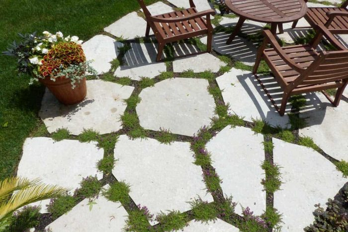 patio floor ideas